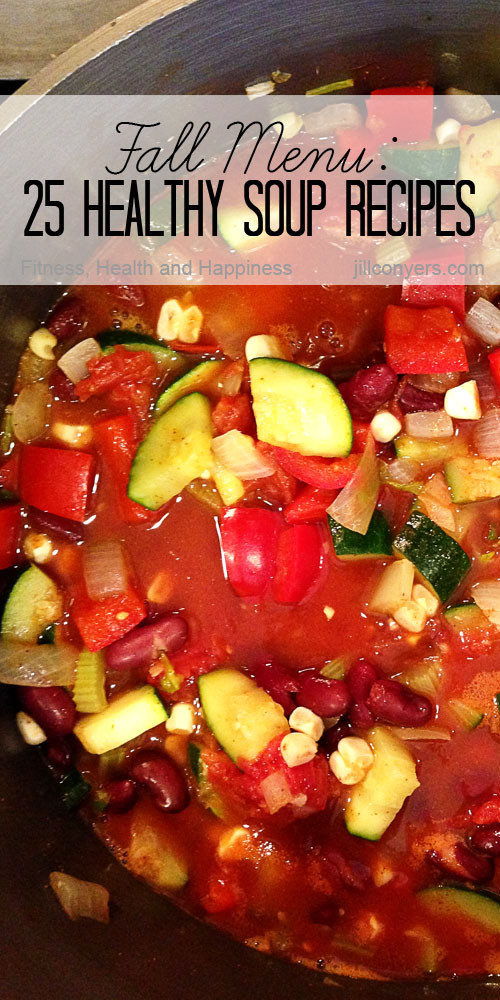 Fall Soups Healthy  Fall Menu 25 Healthy Soup Recipes Jill Conyers