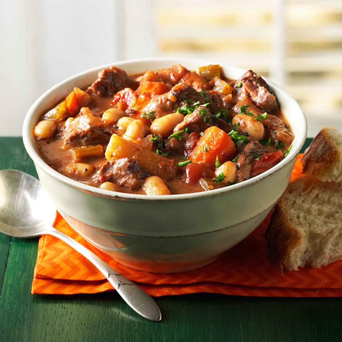 Fall Stew Recipes  Wintertime Braised Beef Stew Recipe
