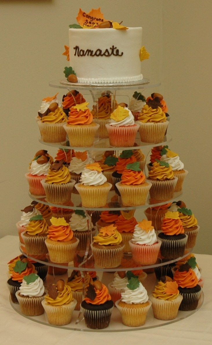 Fall Themed Cupcakes  17 Best ideas about Fall Wedding Cupcakes on Pinterest