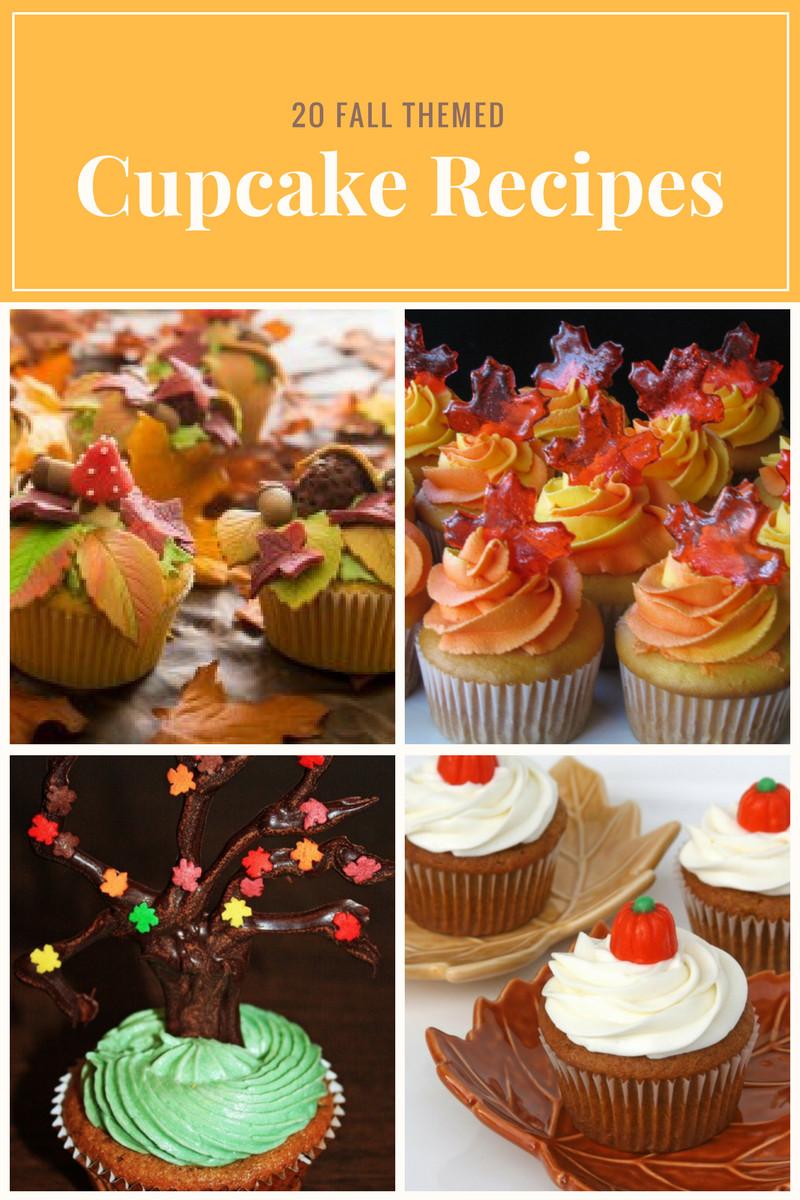 Fall Themed Cupcakes  20 Fall Themed Cupcake Recipes