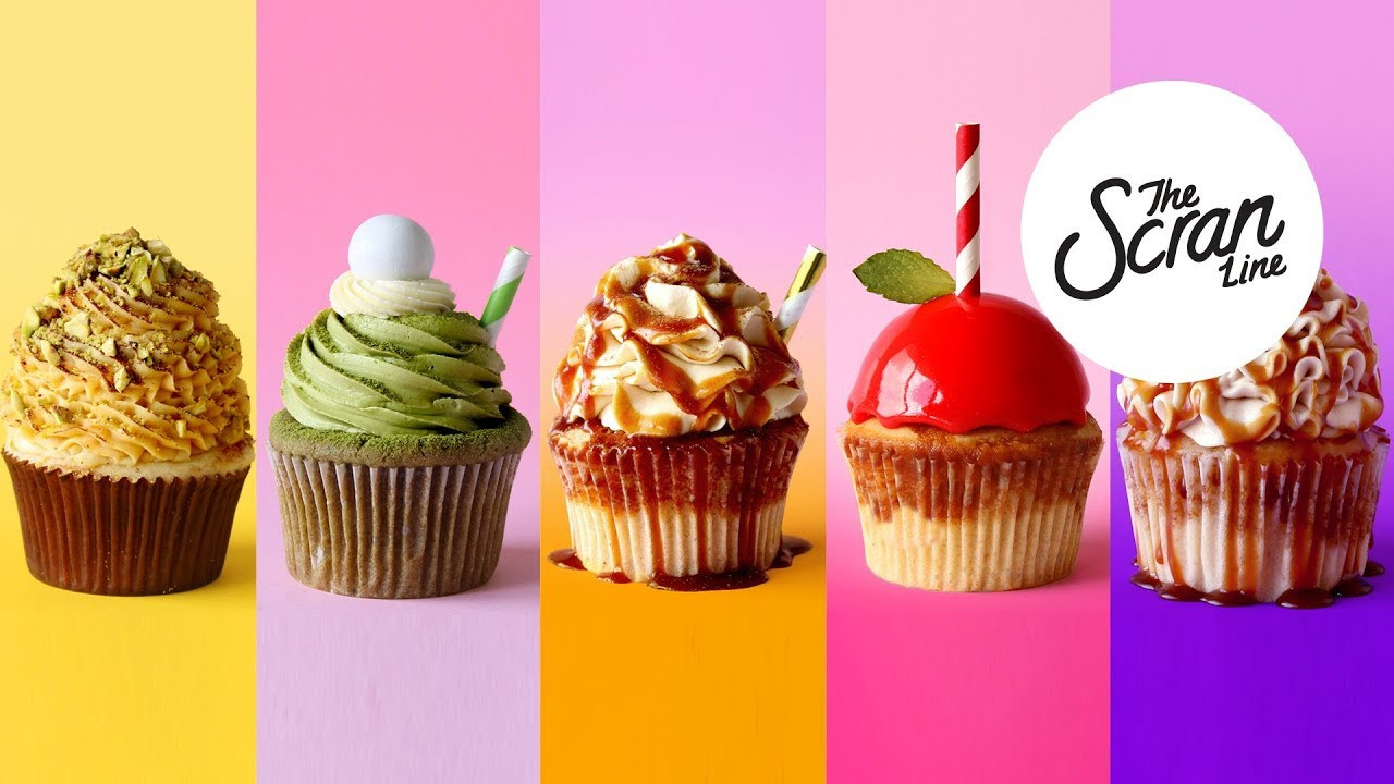 Fall Themed Cupcakes  5 AMAZING FALL AUTUMN THEMED CUPCAKES IN 5 MINUTES The