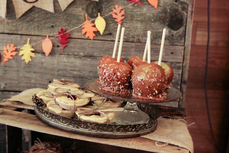 Fall Themed Desserts  fall dessert table – Jenny Cookies