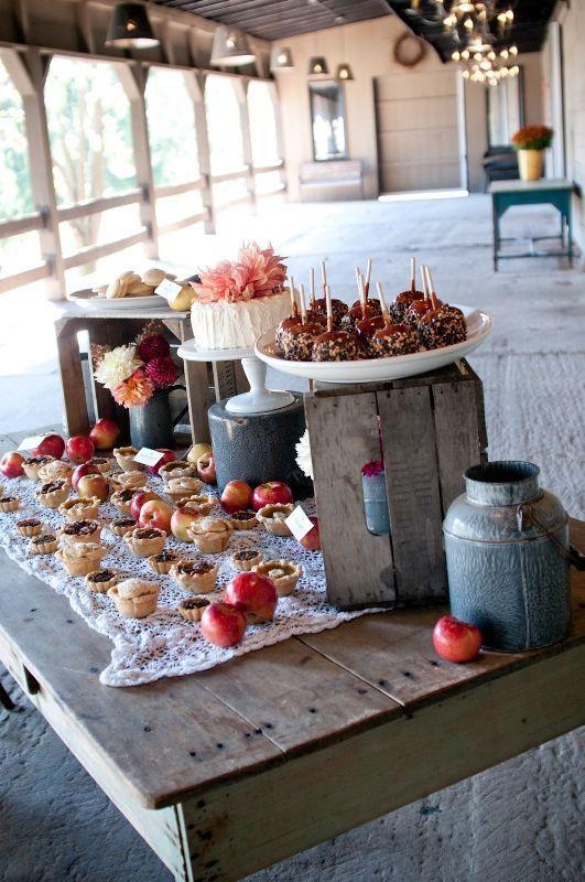 Fall Themed Desserts  Best 25 Fall wedding desserts ideas on Pinterest