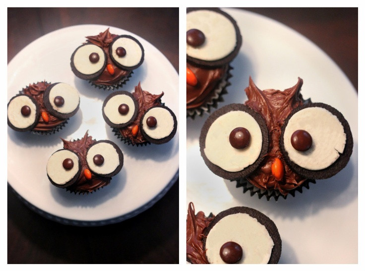 Fall Themed Desserts  1000 images about Owl themed birthday party on Pinterest