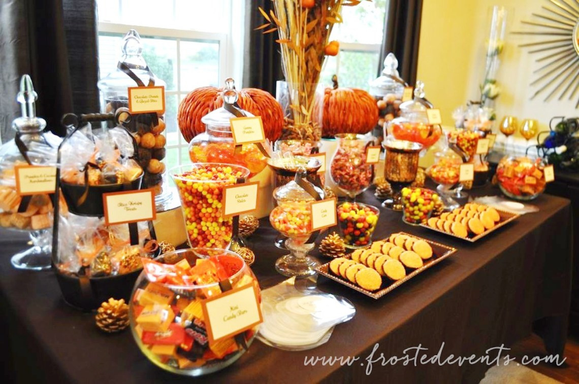 Fall Themed Desserts  DIY Dessert Table For Wedding or Party
