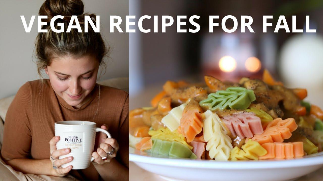 Fall Vegetarian Recipes  VEGAN RECIPES FOR FALL
