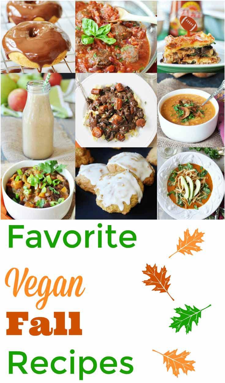 Fall Vegetarian Recipes  Favorite Fall Vegan Recipes Veganosity