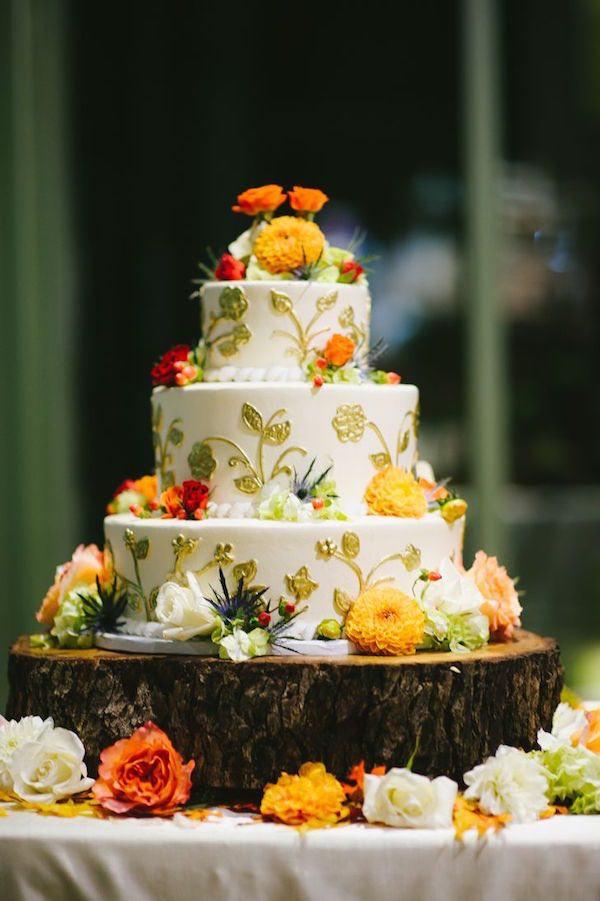 Fall Wedding Cakes Ideas  Spectacular Fall Wedding Cake Ideas MODwedding