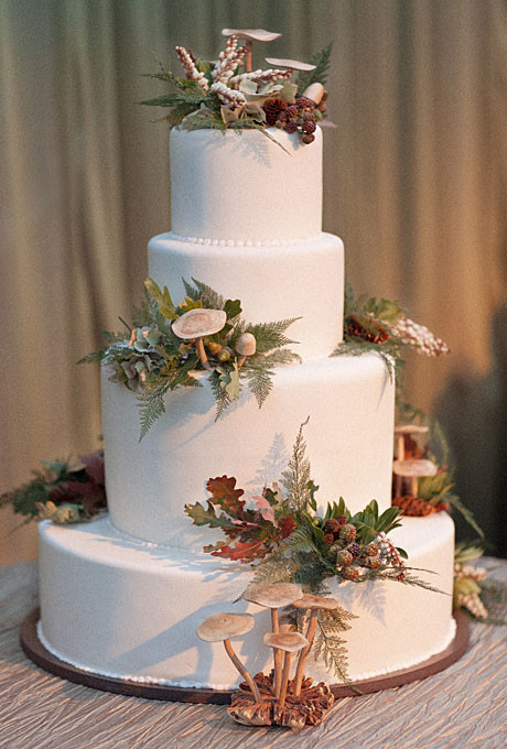 Fall Wedding Cakes Pictures  September 2013