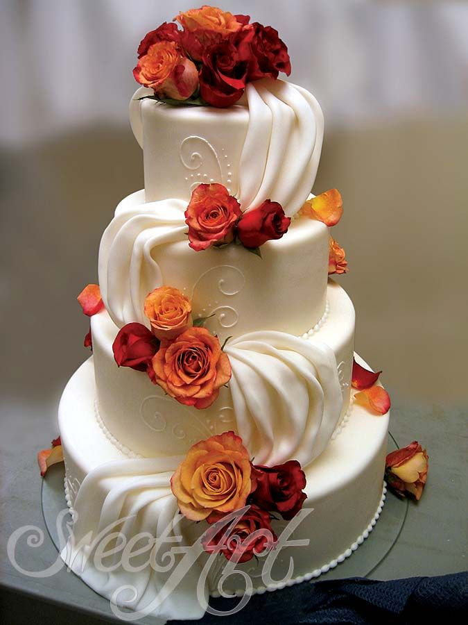 Fall Wedding Cakes Pictures  25 best ideas about Fall Wedding Cakes on Pinterest