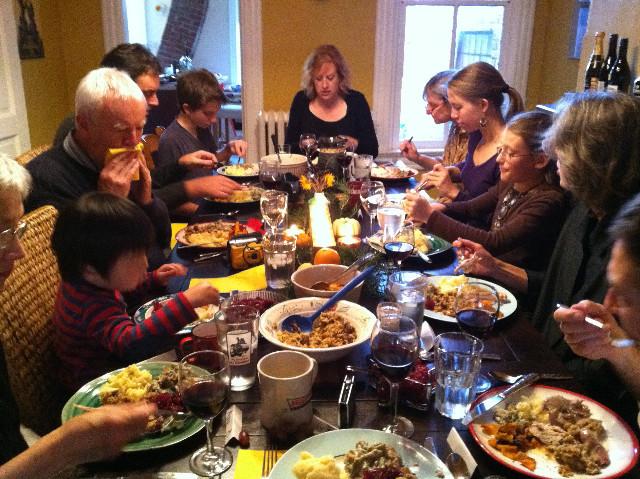 Family Thanksgiving Dinner  appetizer
