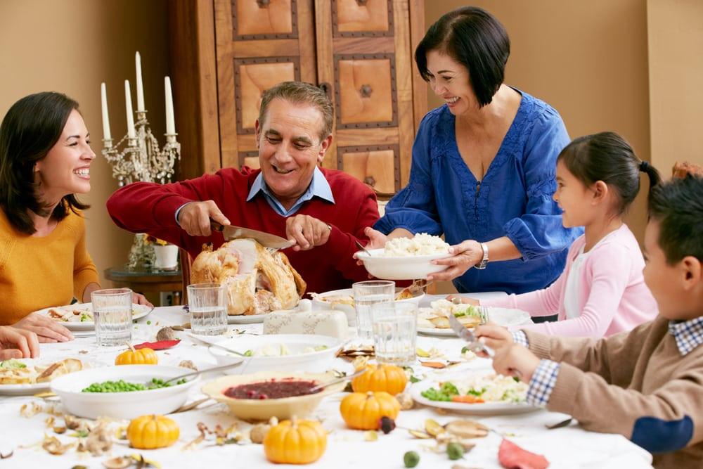 Family Thanksgiving Dinner  5 Tips for Planning a Thanksgiving in Gatlinburg TN