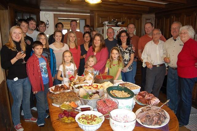 Family Thanksgiving Dinner  How To Properly Prepare For Thanksgiving 2013 • Dzhingarov
