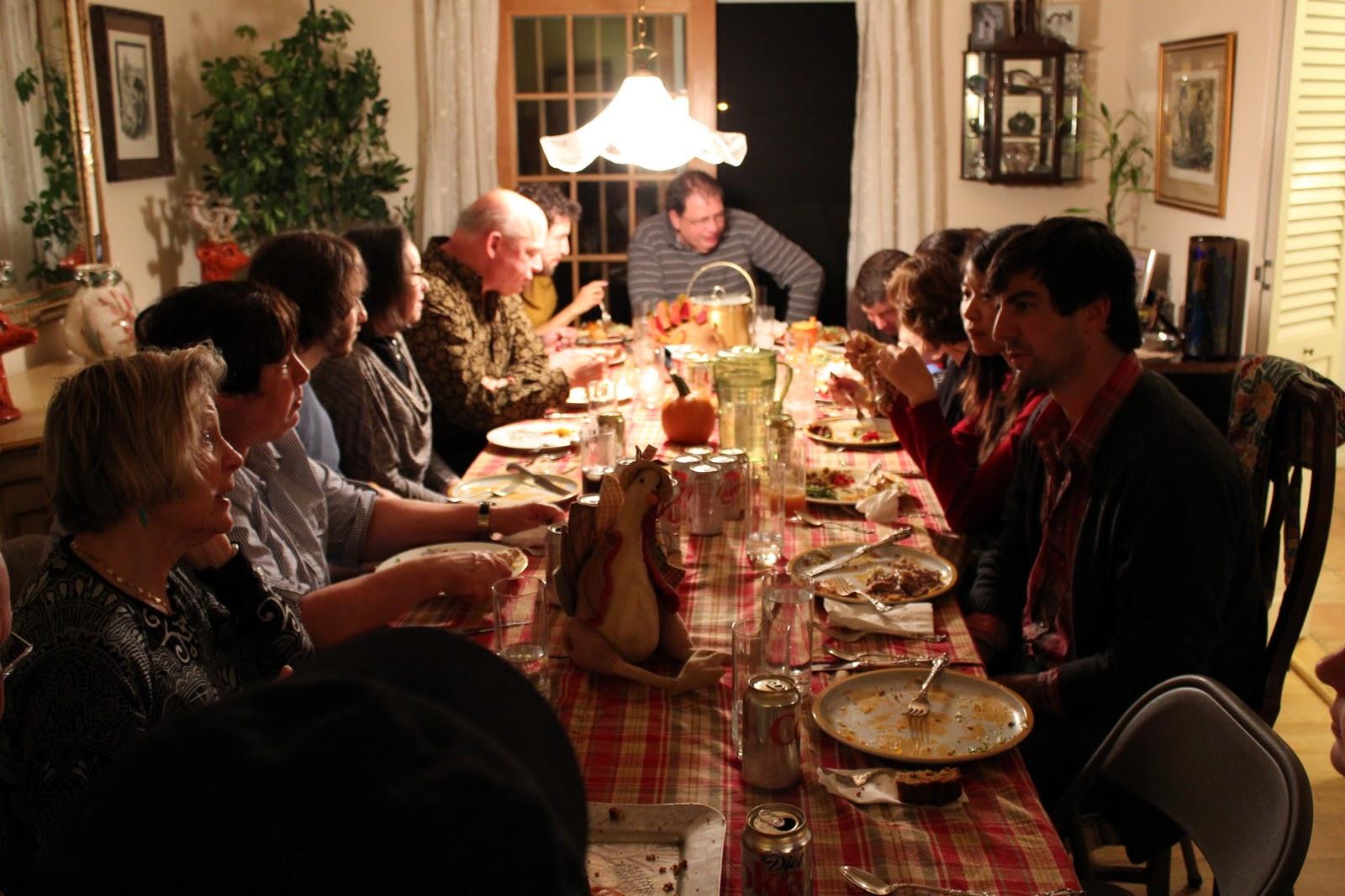 Family Thanksgiving Dinner  Photastic USA THANKSGIVING