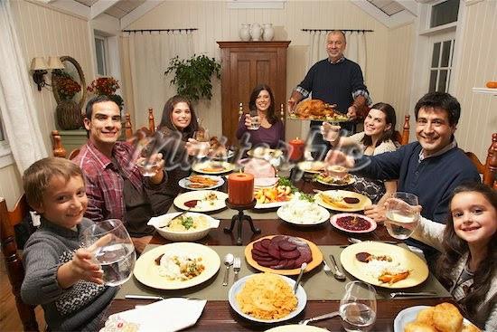 Family Thanksgiving Dinner  Chicken Fat Thanksgiving Traditions