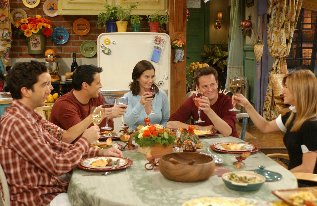 Family Thanksgiving Dinner  Friends The End Warner Bros UK
