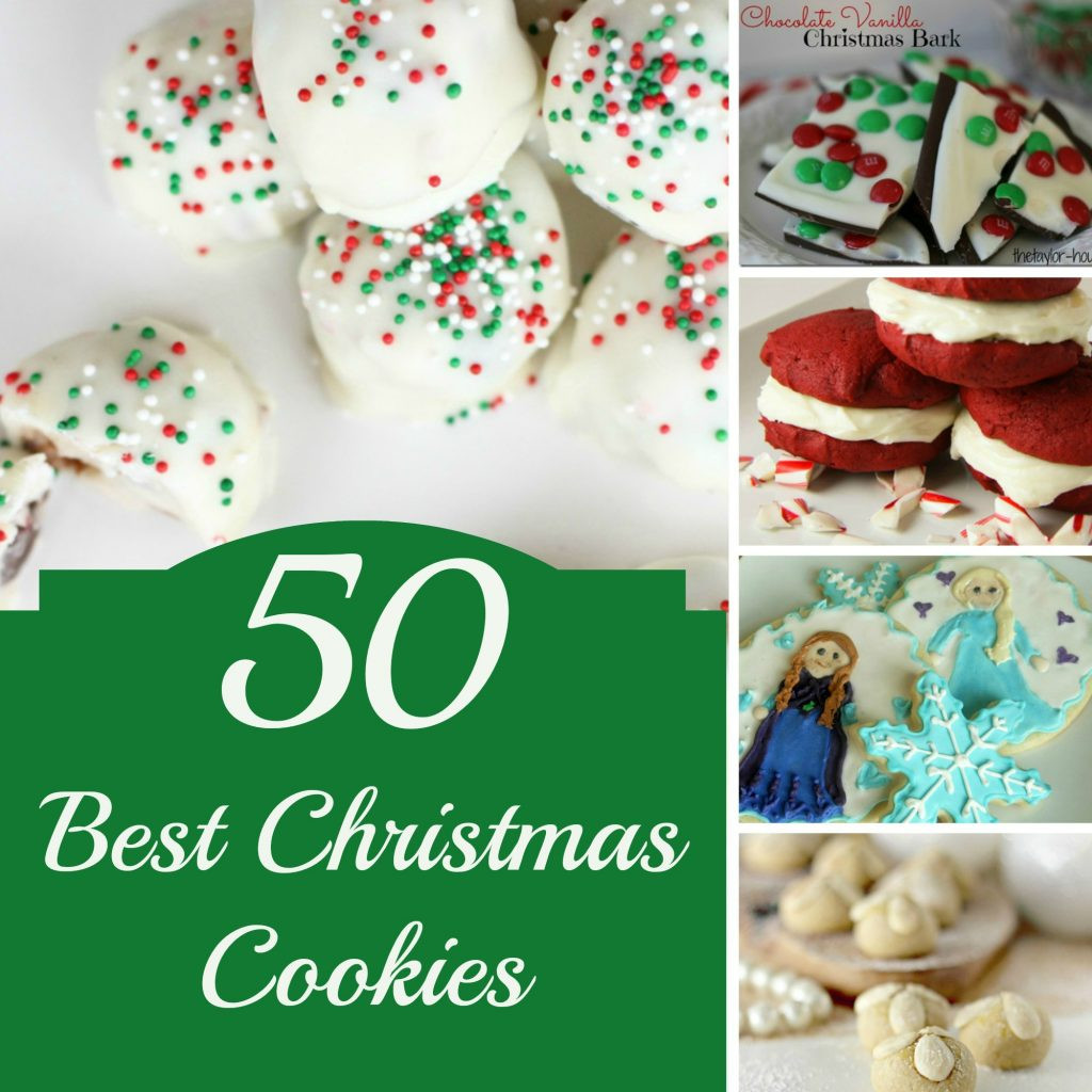 Famous Christmas Cookies  50 BEST Christmas Cookies to Make this Year The Taylor House