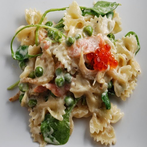 Farfalle Pasta Salad Recipe  Copycat Restaurant Recipes Lotsa Pasta s Farfalle Salad