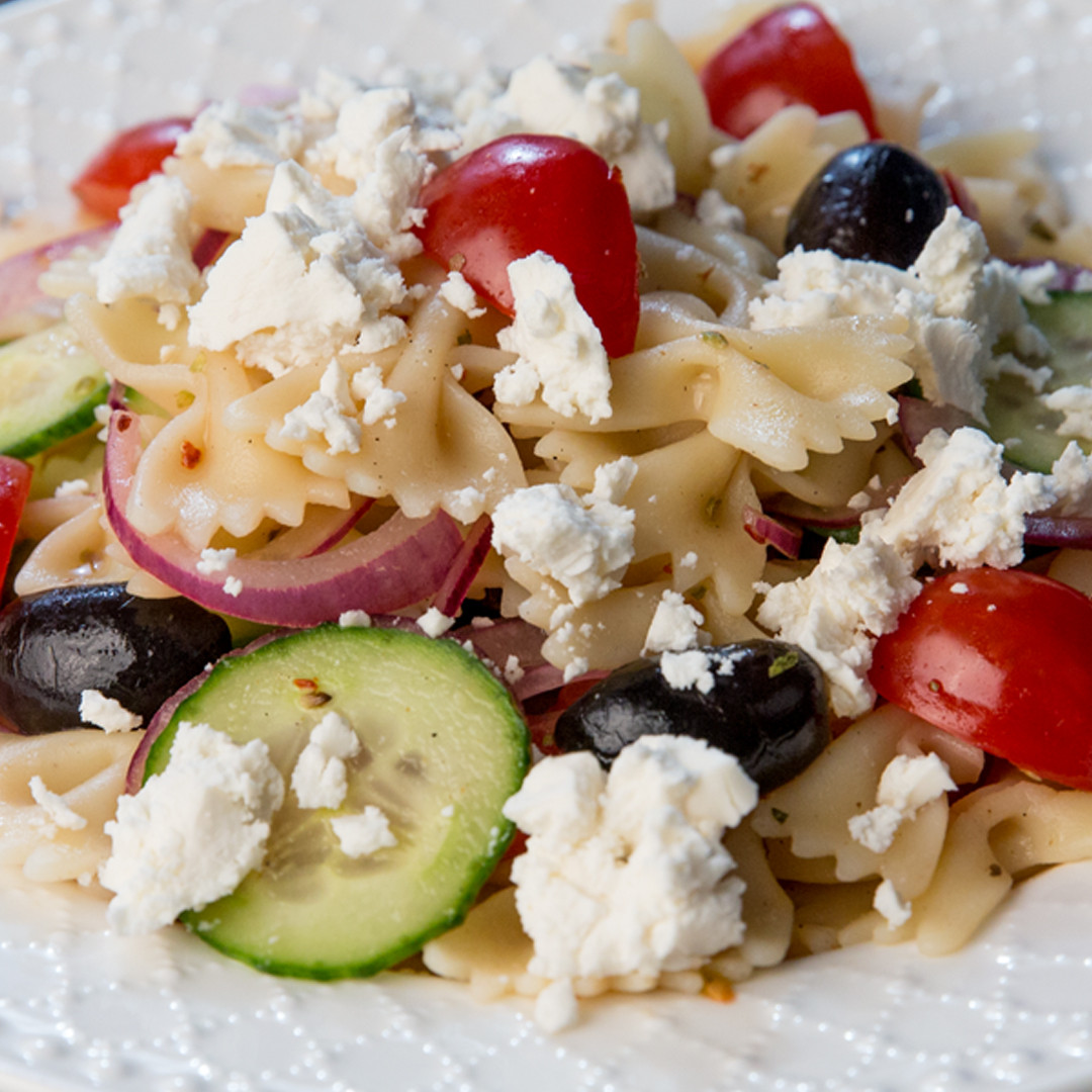 Farfalle Pasta Salad Recipe  So Delicious