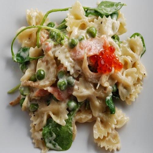 Farfalle Pasta Salad Recipes  Copycat Restaurant Recipes Lotsa Pasta s Farfalle Salad