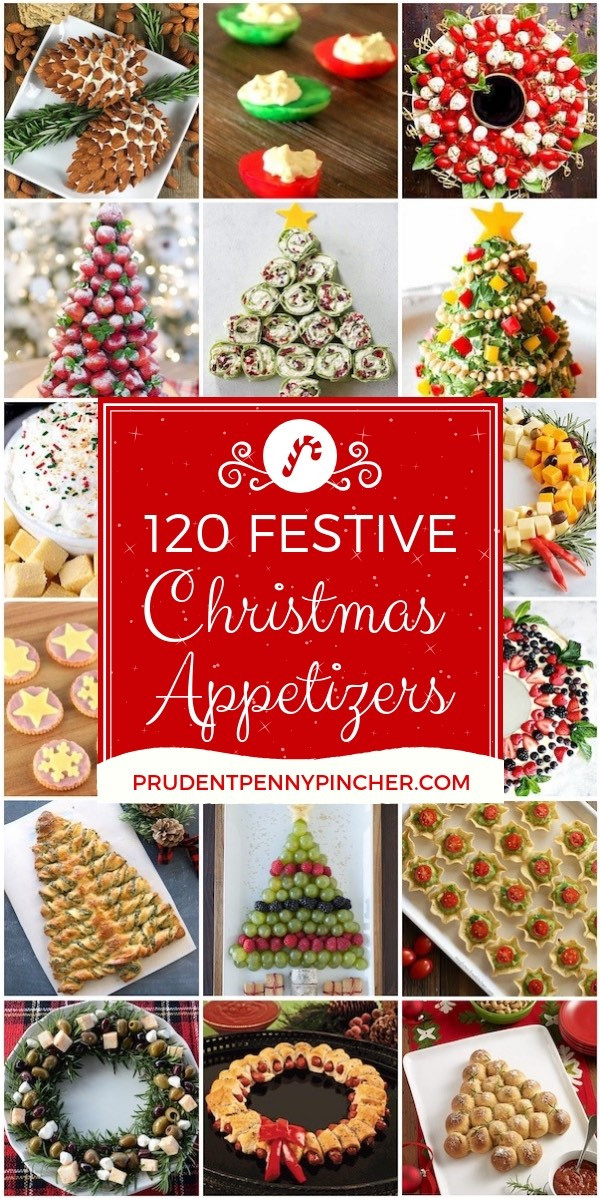 Festive Christmas Appetizers  120 Festive Christmas Appetizers Prudent Penny Pincher