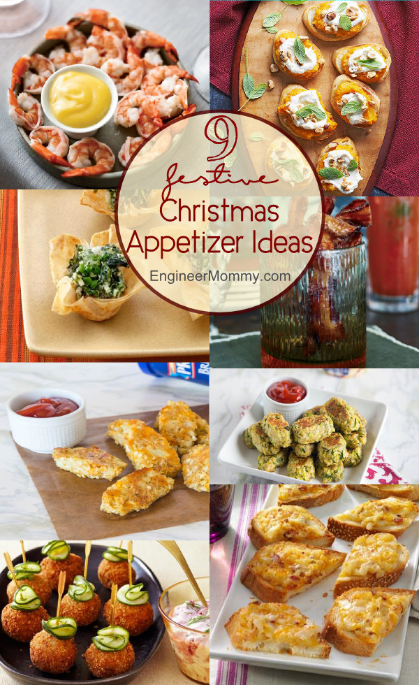 Festive Christmas Appetizers  9 Festive Christmas Appetizer Ideas