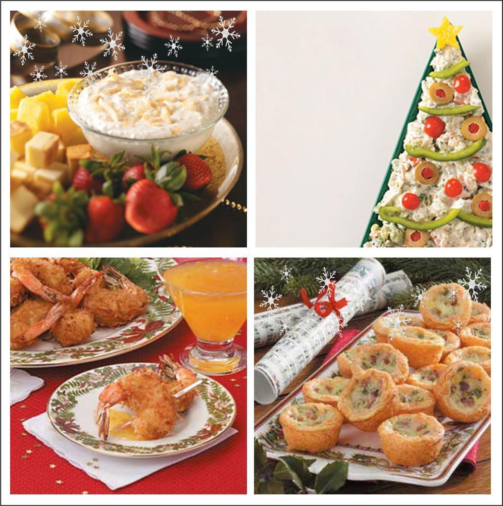Festive Christmas Appetizers  It s Written on the Wall 24 Festive Christmas Appetizers