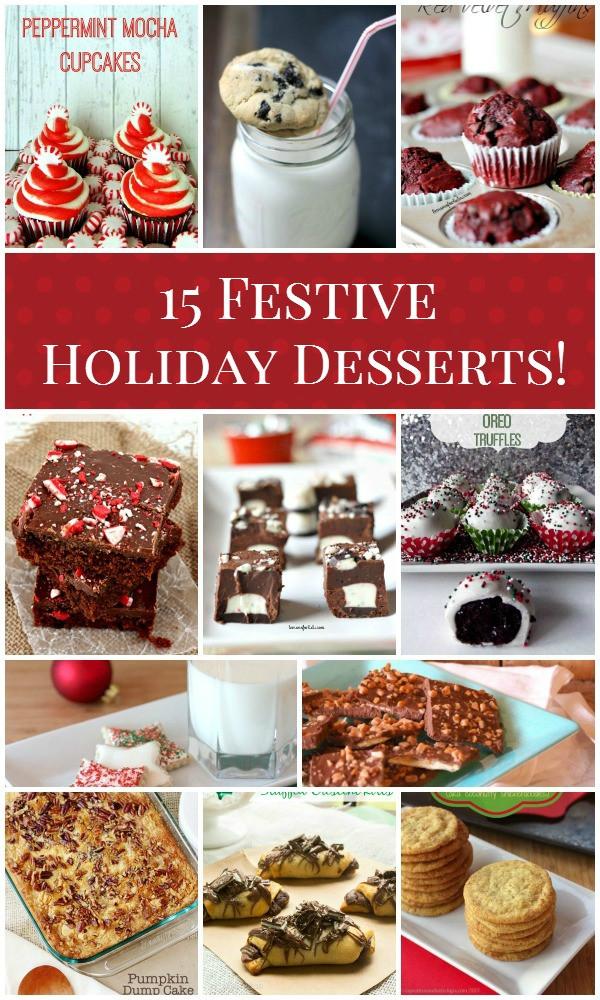 Festive Christmas Desserts  15 Festive Holiday Desserts