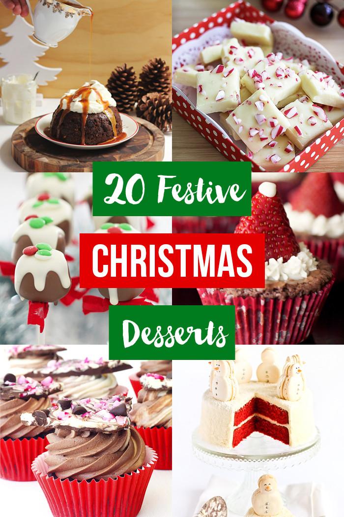 Festive Christmas Desserts  20 Festive Christmas Desserts Love Swah