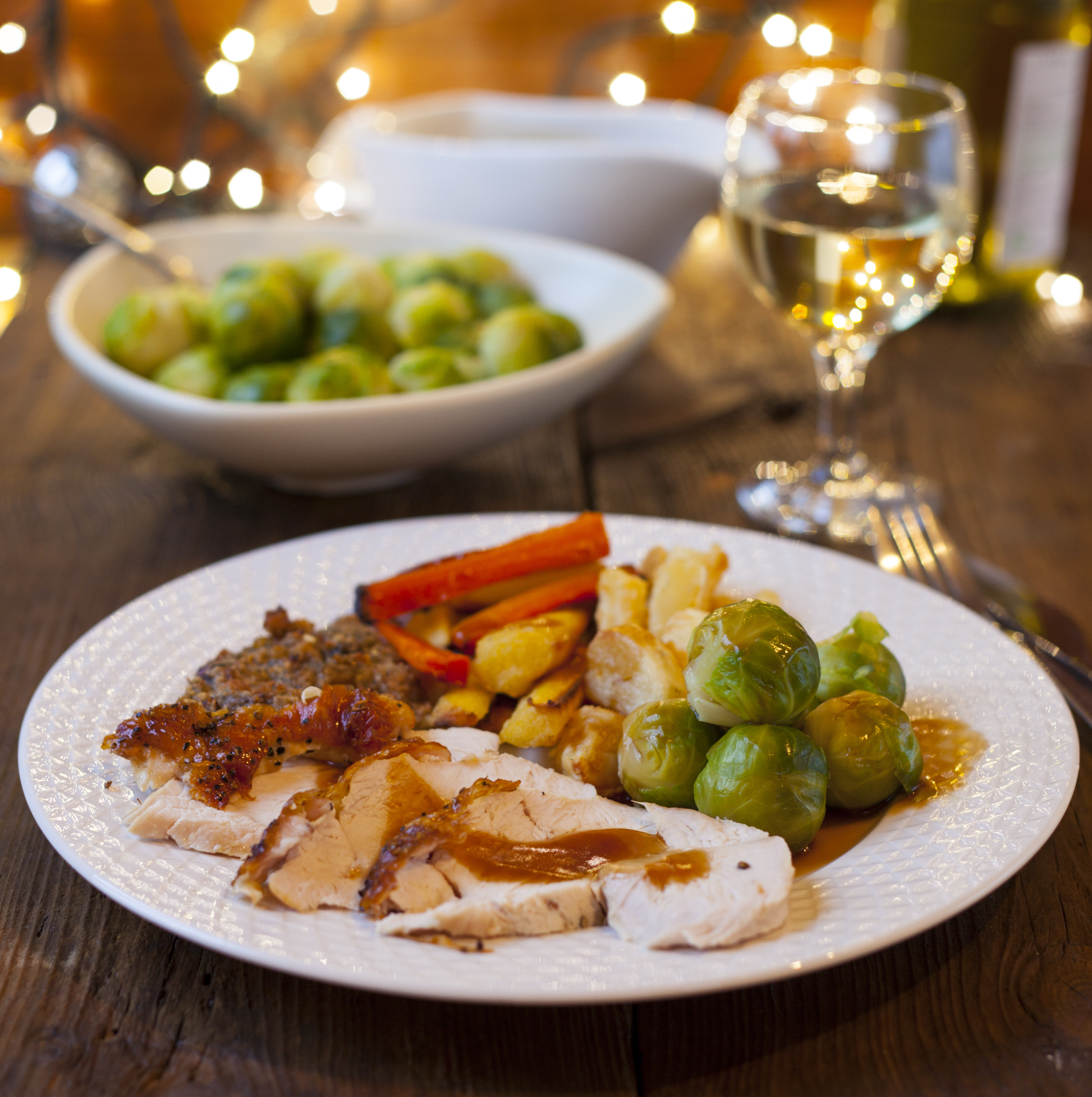 Food For Christmas Dinner  Healthy recipes of the month Christmas dinner leftovers