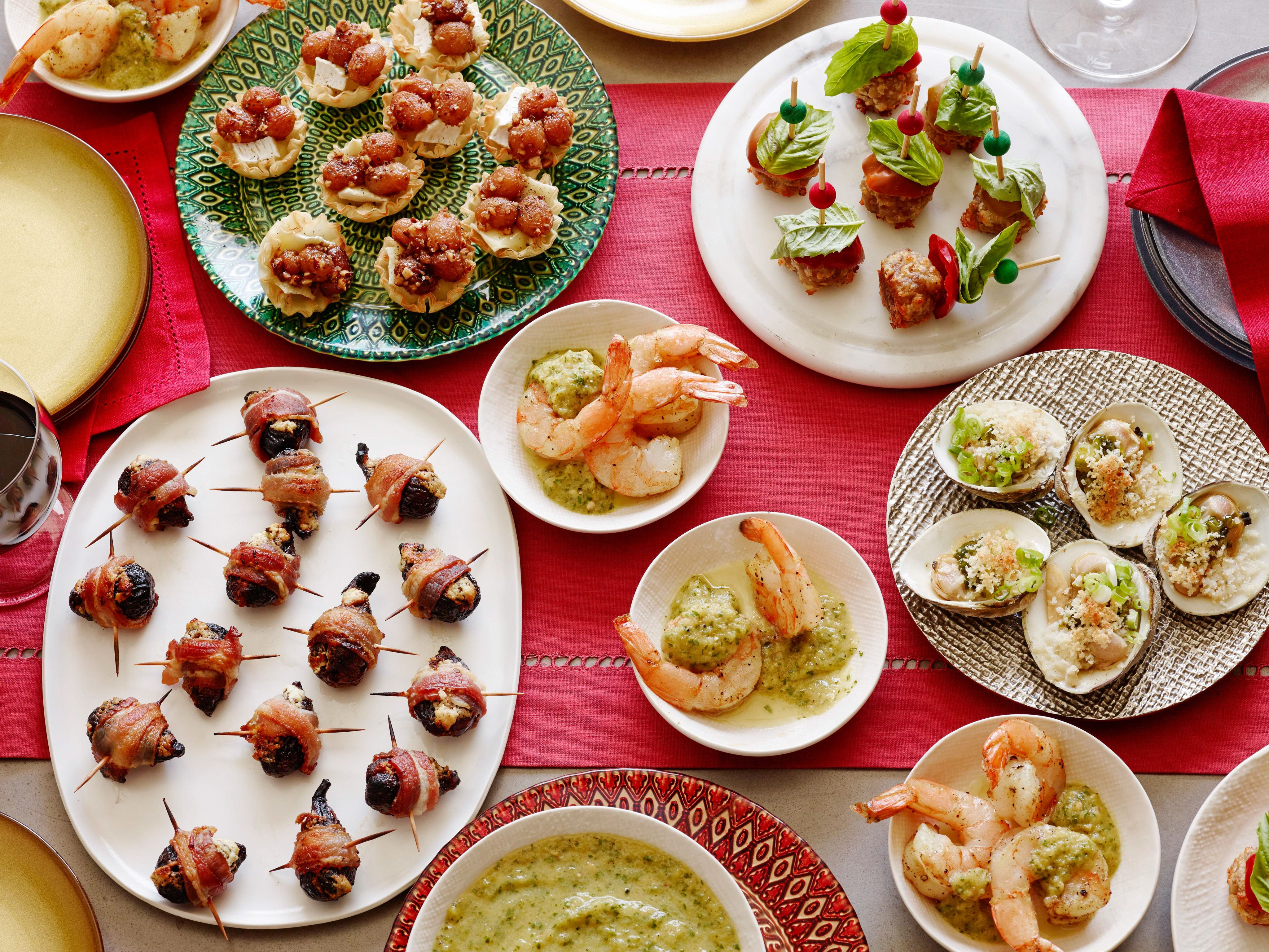 Food Network Christmas Appetizers  Easy and Elegant Holiday Appetizer Recipes Food Network