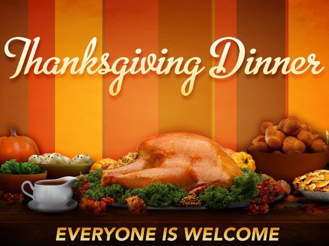 Free Thanksgiving Dinner  Free Thanksgiving Dinner