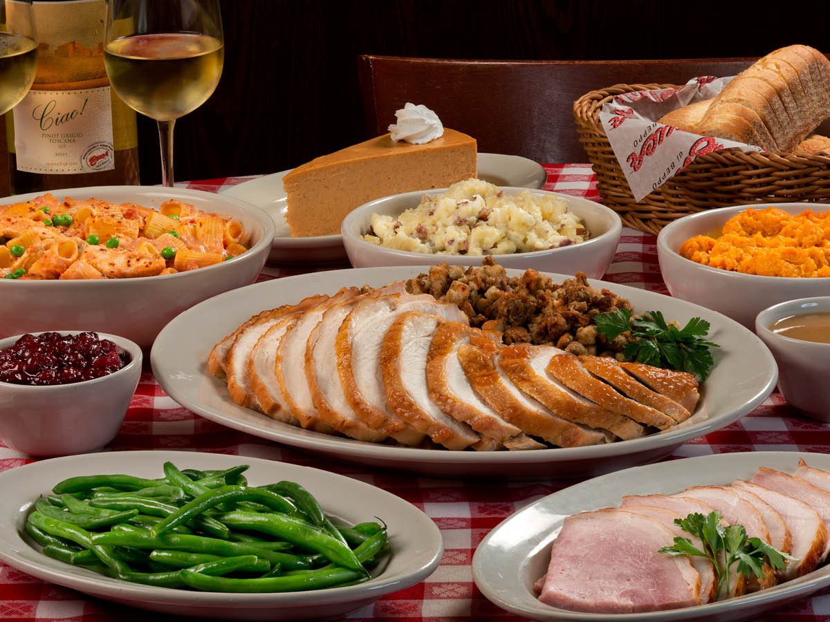 Free Thanksgiving Dinner  Hassle Free Thanksgiving Dinner With Buca di Beppo