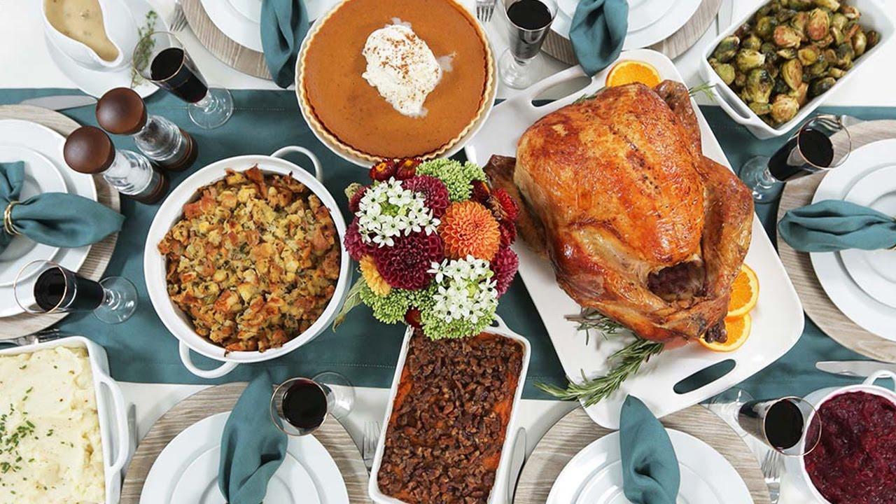 Free Thanksgiving Dinner  My Thanksgiving Dinner Countdown