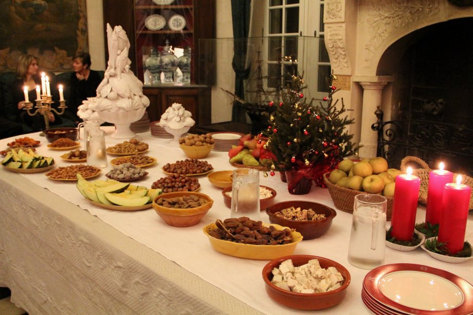 French Christmas Desserts  French food
