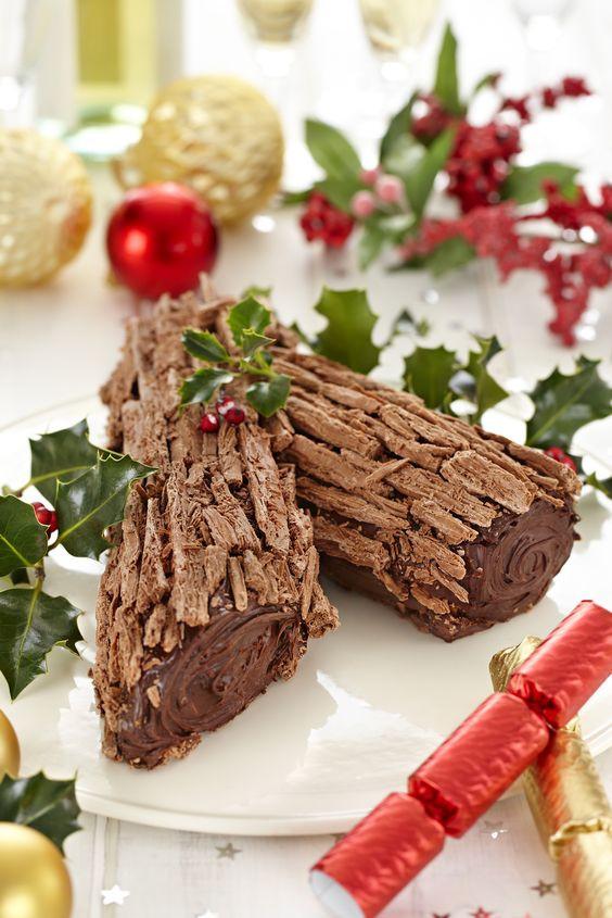 French Christmas Recipes  French desserts Cadbury kitchen and Yule log on Pinterest