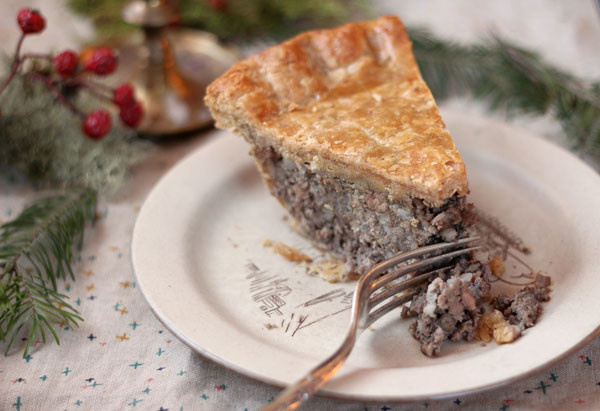 French Christmas Recipes  Classic French Canadian Tourtière