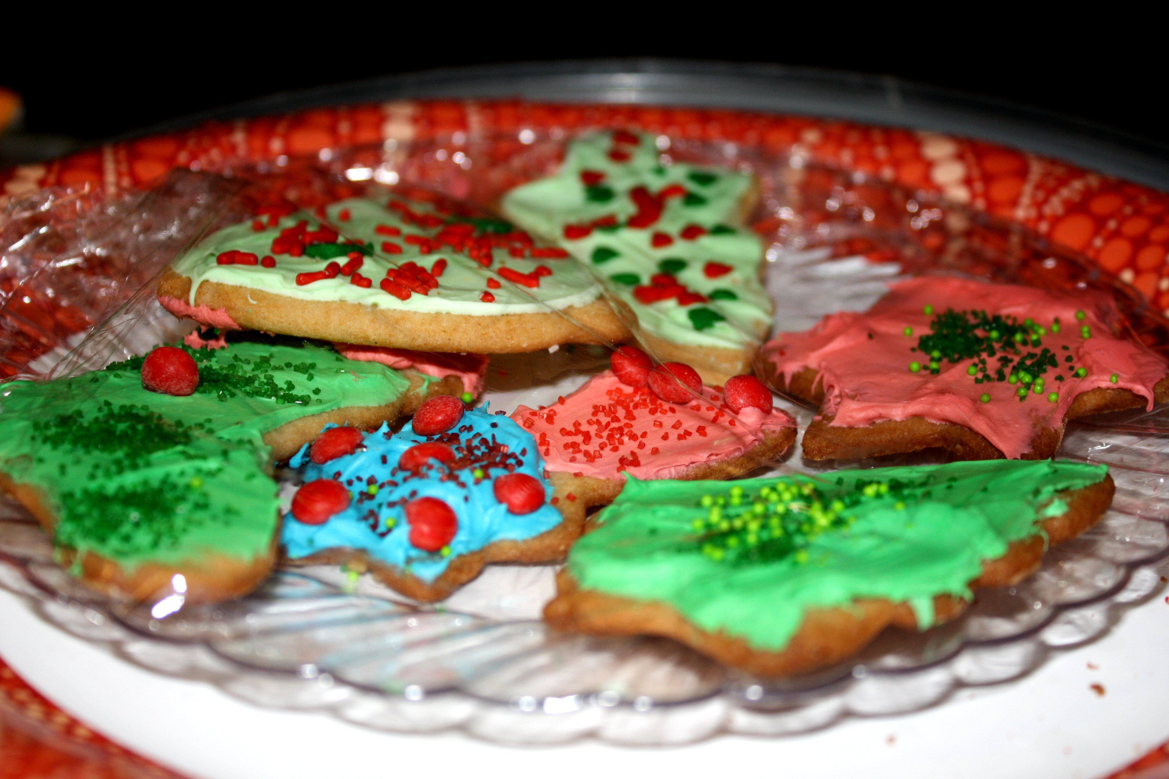 Frosted Christmas Cookies  a2barrebeefit
