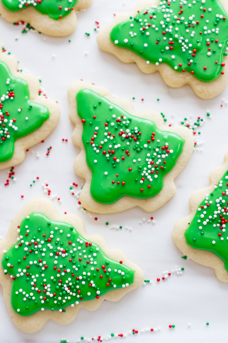 Frosted Christmas Cookies  Top 10 Most Beautiful Festive Cookies to Make This