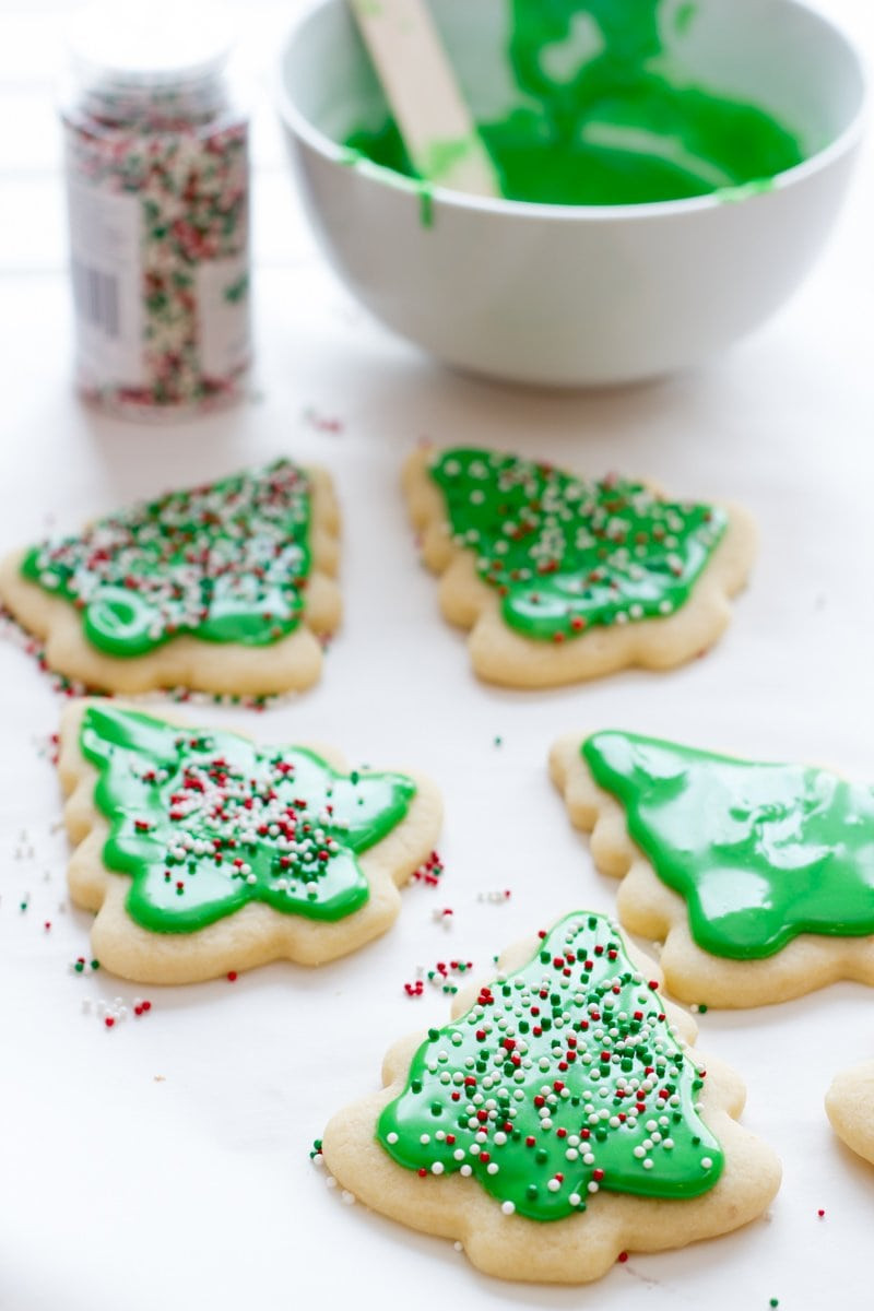 Frosted Christmas Cookies  Perfect Frosted Sugar Cookies Wholefully