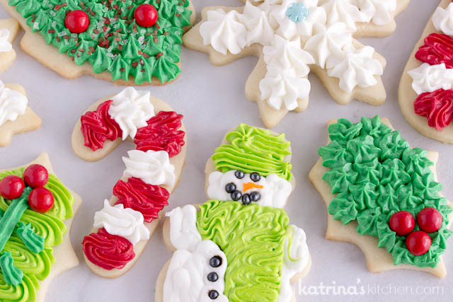 Frosting For Christmas Cookies  Christmas Cookie Frosting