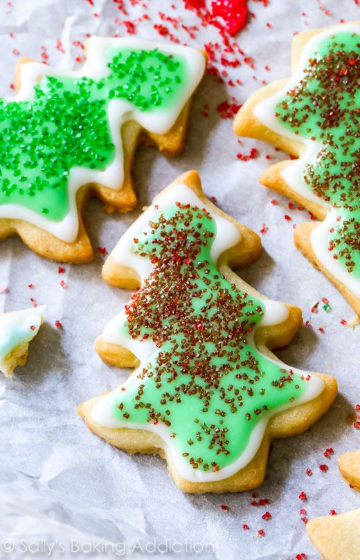 Frosting For Christmas Cookies  Holiday Cut Out Sugar Cookies with Easy Icing