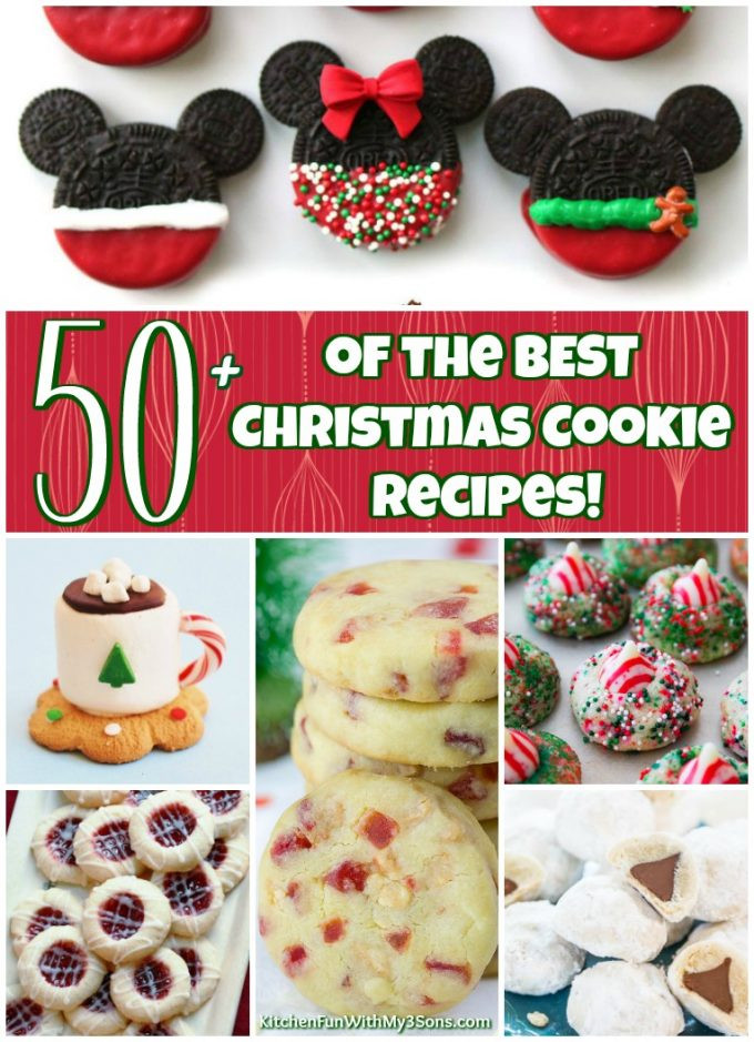 Fun Christmas Cookies Recipe  50 of the BEST Christmas Cookie Recipes Kitchen Fun