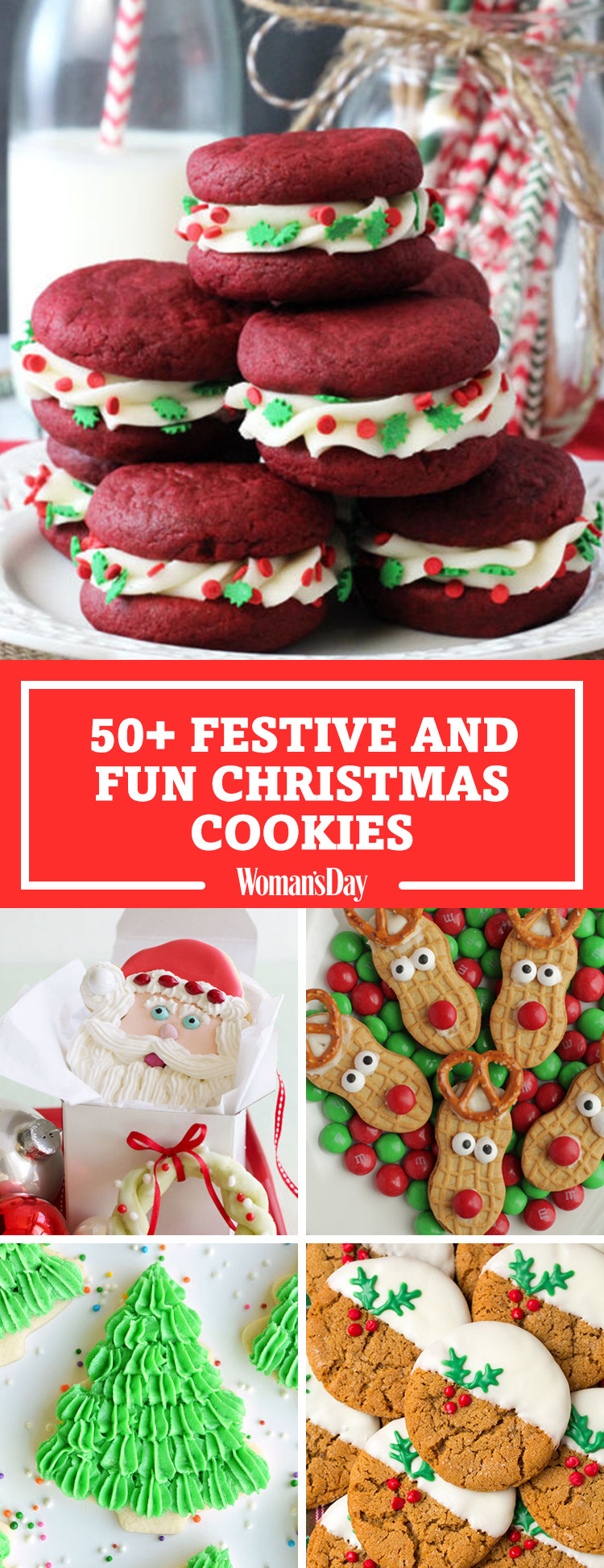 Fun Easy Christmas Cookies  59 Easy Christmas Cookies Best Recipes for Holiday