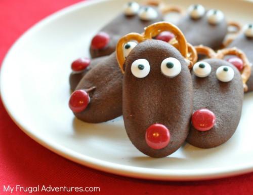 Fun Easy Christmas Cookies  Quick & Easy Reindeer Christmas Cookies My Frugal Adventures