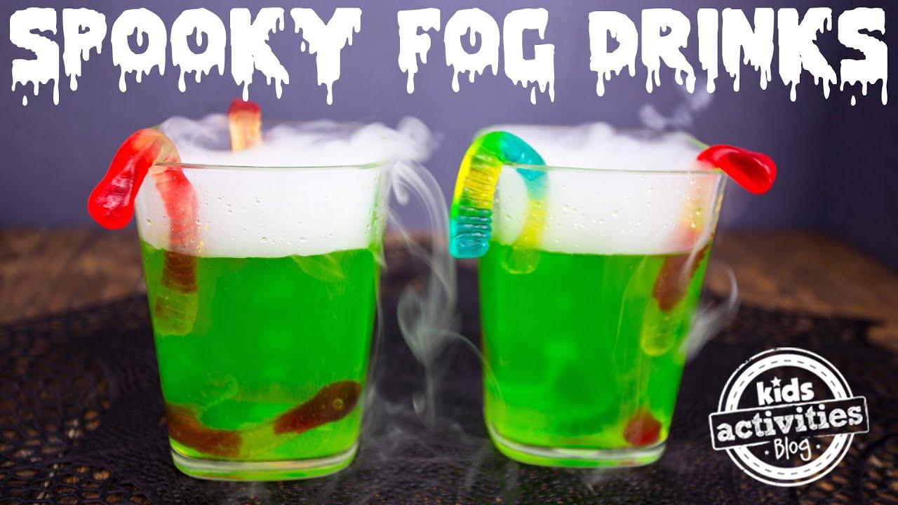 Fun Halloween Drinks Alcohol  Spooky Fog Drinks for a Halloween Party