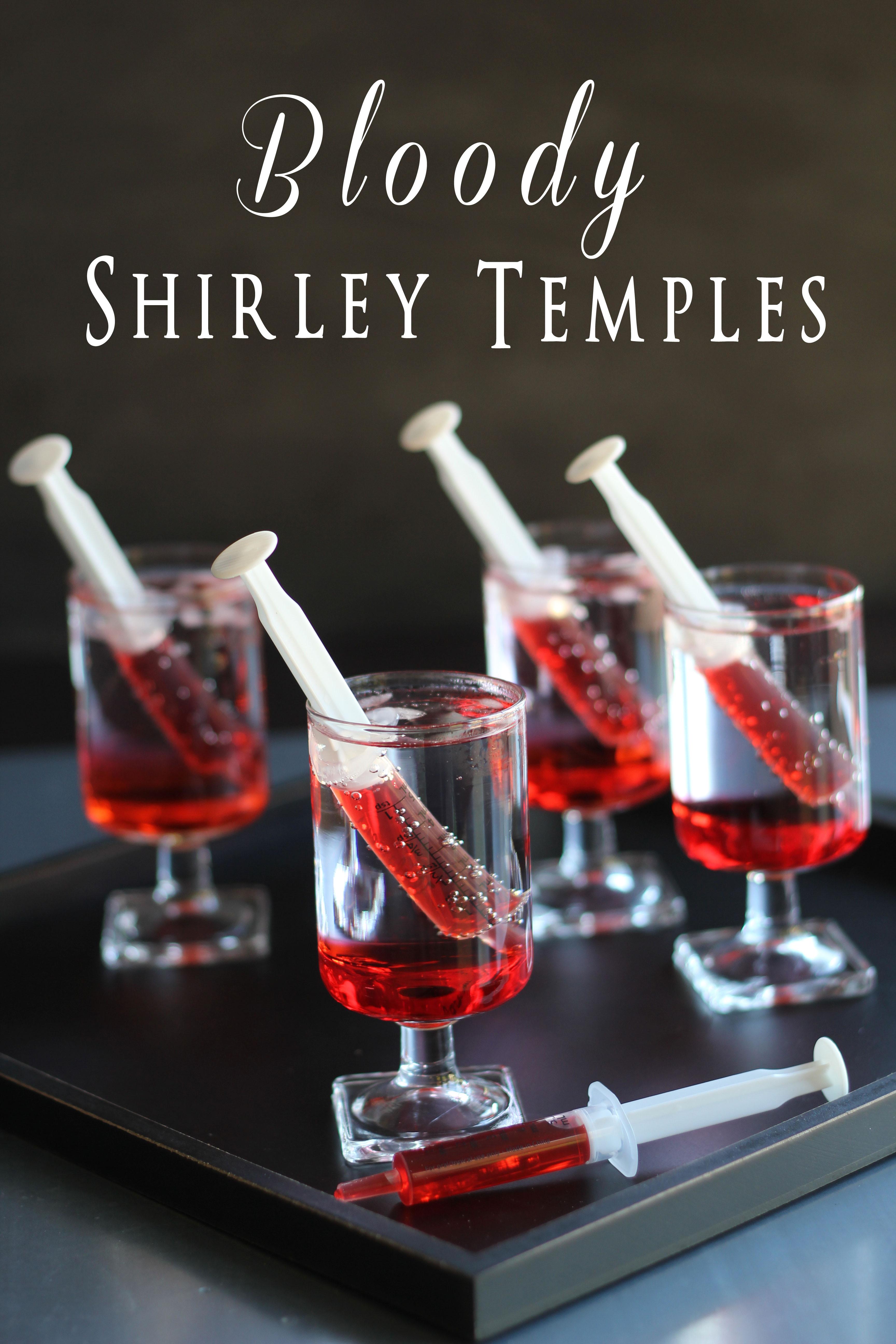 Fun Halloween Drinks Alcohol  Bloody Shirley Temples TGIF This Grandma is Fun