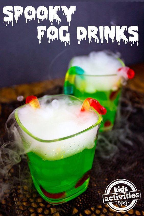 Fun Halloween Drinks Alcohol  Spooky Fog Drink Non Alcoholic Halloween Drinks Livingly