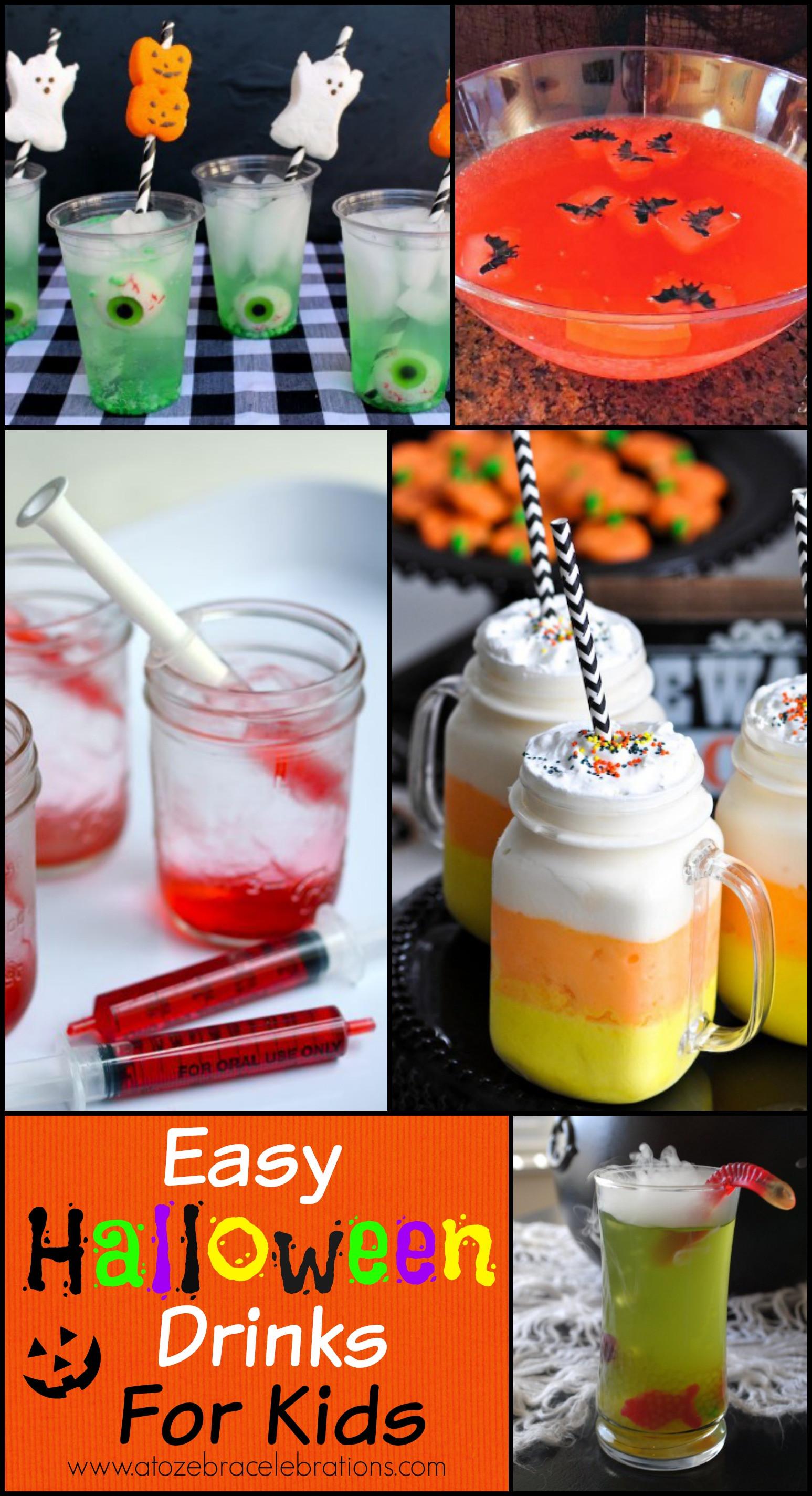 Fun Halloween Drinks  openyoureyes08 October 2015