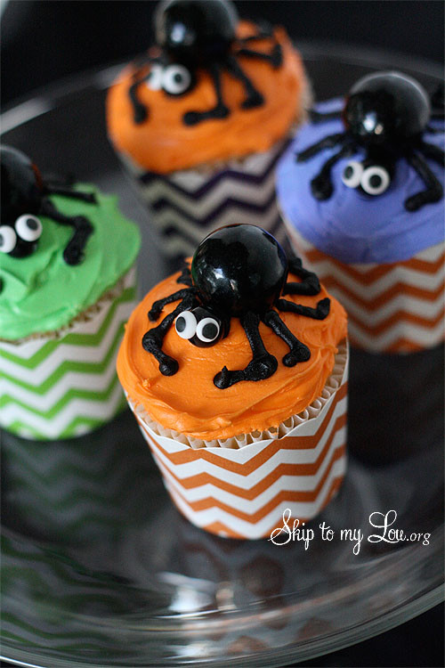 Funny Halloween Cupcakes  Best Ever Spider Cupcakes in 4 Easy Steps